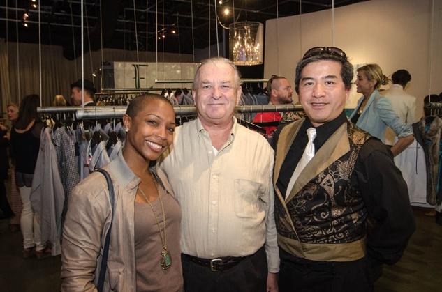 Austin Fashion Week kick off party at estilo 2013 Krystal Lucero, Rick Gonyo and Frank Hul