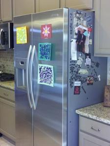 Austin Photo Set: News_Christina Pesoli_trash treasure home part 2_June 2011_fridge