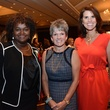 5623 Vivian Mora, from left, Twila Carter and Lisa Malosky at the Girls Inc. luncheon May 2014