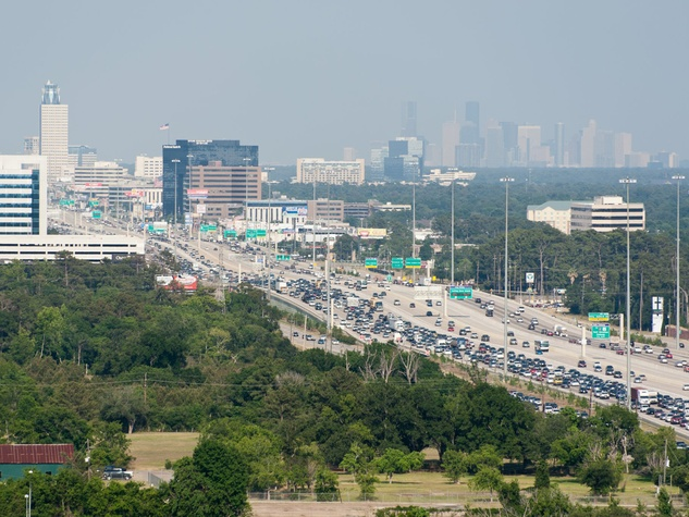 Houston Energy Corridor traffic Interstate 10