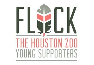 Flock houston zoo logo