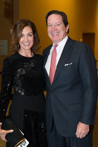 0261 Elizabeth and Will Galtney at the Cristo Rey Jesuit Gala January 2015