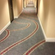 new I-35 carpet at Hilton Austin downtown