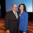 Patrick Mulvey and Angela Young at the National Philanthropy Day Awards November 2014