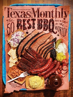 Texas Monthly June 2013 cover 50 best barbecue joints