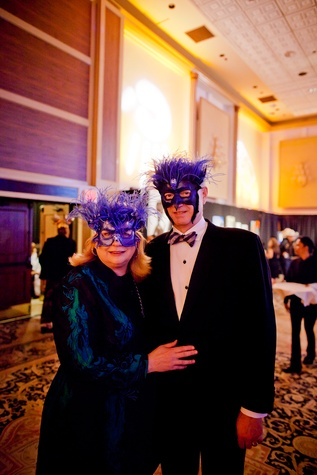 3 Lynne Mathre and Stewart O'Dell at the Orange Show Gala November 2014