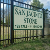 San Jacinto Stone, sign, fence