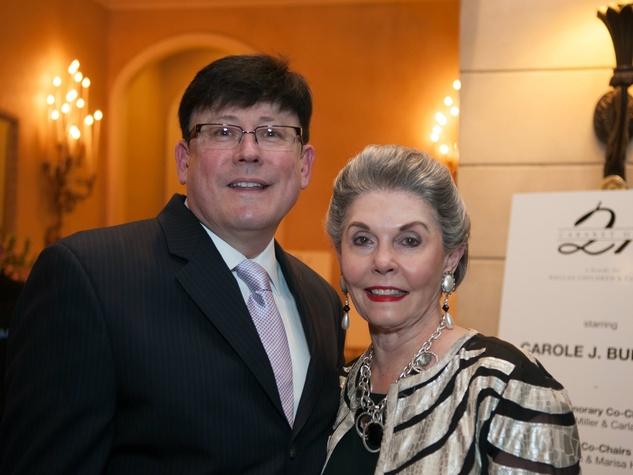 Artie Olaisen (Producer), Barbara Brice at Cabaret Gala