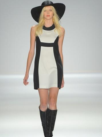 Clifford, Fashion Week spring 2013, Rachel Zoe, mod dress