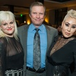 4 Aubrie Layne, from left, Jimmy Montgomery and Beatrice Zarco at the JW Marriott Houston Grand Opening November 2014
