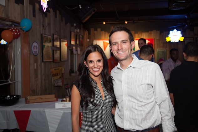 2555 Allie and Eric Danziger at the Friends of DePelchin Fall Carnival at Jackson's Watering Hole