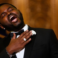 "Countertenor John Holiday performs during the Ars Lyrica ""Roaring Twenties"" Gala"