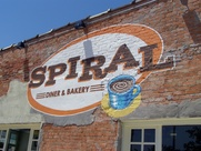 Exterior Spiral Diner in Dallas