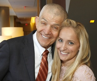 Jim McIngvale and his daughter, Elizabeth McIngvale-Cegelski, featured speakers, beacon of hope luncheon