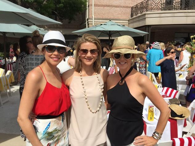 News, Shelby, River Oaks Tennis Tournament luncheon, April 2015, Estela Cockrell, Stephanie Cockrell, Elizabeth Petersen