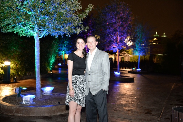1 Georgina and Thad Armstrong at the Houston Zoo Ambassadors Gala February 2015