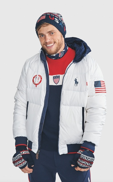 Slideshow Ralph Lauren unveils Team USA uniforms for Winter Olympics closing ceremony ...