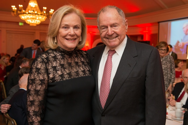 Anne and Charles Duncan at the Bill Hobby Roast January 2015