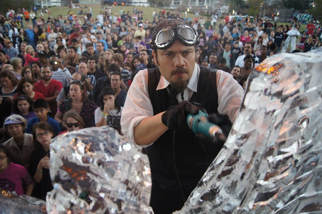 Neuro Presents Magnificent 7 Ice Carving Competition