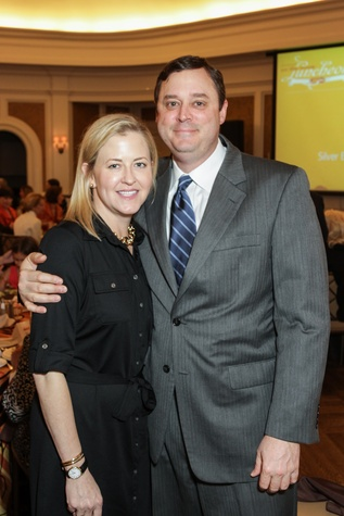 Sarah and Earl Dyke at the MS Society luncheon March 2015
