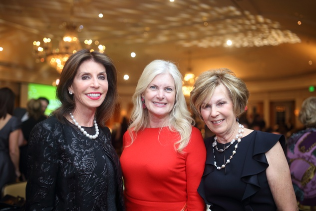 1438 Judith Oudt, from left, Mica Mosbacher and Rita Madden at the Sire Under the Stars event March 2015