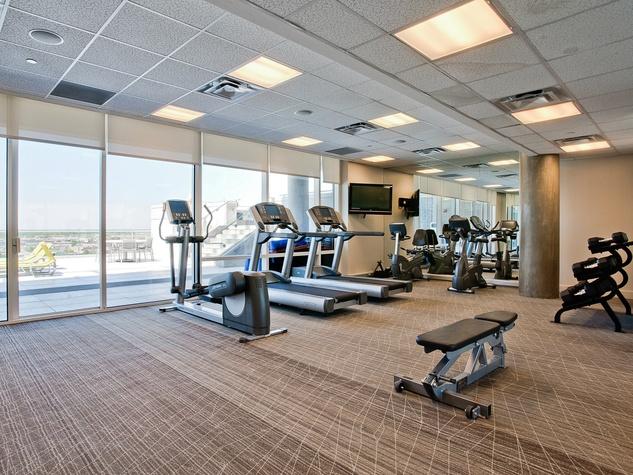 W Hotel Residences Dallas fitness center