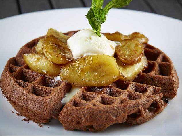Choc waffle at Kitchen LTO