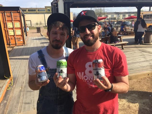 8th Wonder Brewery cans Ryan Soroka Miles White