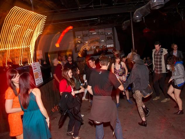 Fun Fun Fun Fest Nites Dance Off at Red 7 in Austin 02447