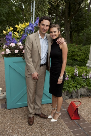 Neal Githens and Kelly Nicholas at the Rienzi Spring Party April 2014