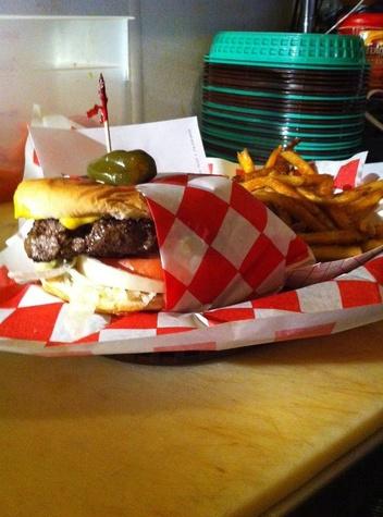 Adair's Saloon burgers