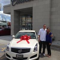 Hector Vera wins Cadillac ATS at Stewart Cadillac