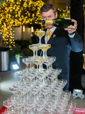 News, Shelby, Chopard opening, Oct. 2015, Tattinger champagne