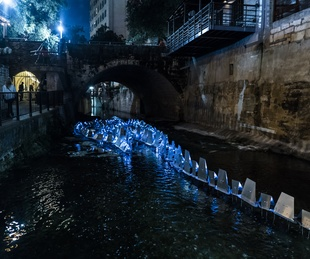 Waller Creek Show 2016 The Creek Zipper by Kory Bieg