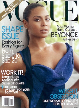 Beyoncé Knowles_Vogue_April 2009