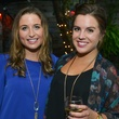 6 Megan Lesser, left, and Michelle Wirzbicki at the CultureMap Social at Boheme September 2014