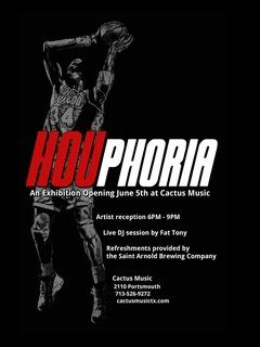 Cactus Music Presents HOUphoria