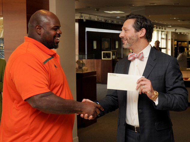 IW Marks Guys Night Out, 6/16,Vince Wilfork, Bard Marks