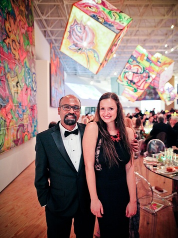 Rahul Mitra and Margaret Braun at the CAMH Gala April 2014