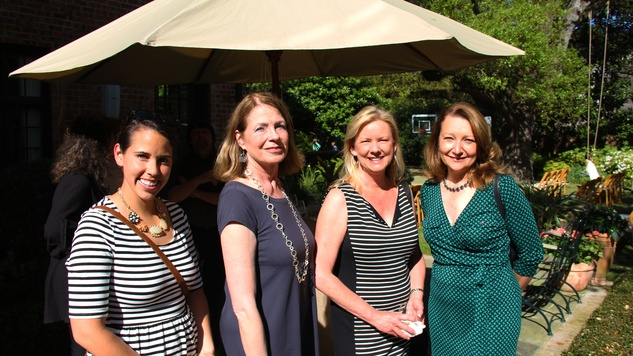 16 Martha Parker, from left, Deborah Cannon, Kat Gallagher and Suzanne Nimocks at Cheetah Conservation and The Houston Zoo Event March 2015