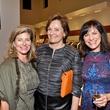 Jana Giammalva, from left, Bobbie Nau and Ilene Allen at the Pamella Roland runway show at Elizabeth Anthony November 2014