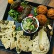 Mezze platter at Oso Food & Wine in Dallas