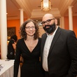 23 Jennifer Ward and Vinod Hopson at the Houston Center for Photography Print Auction February 2014