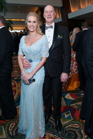 Laurie and Tracy Krohn at Memorial Hermann Gala