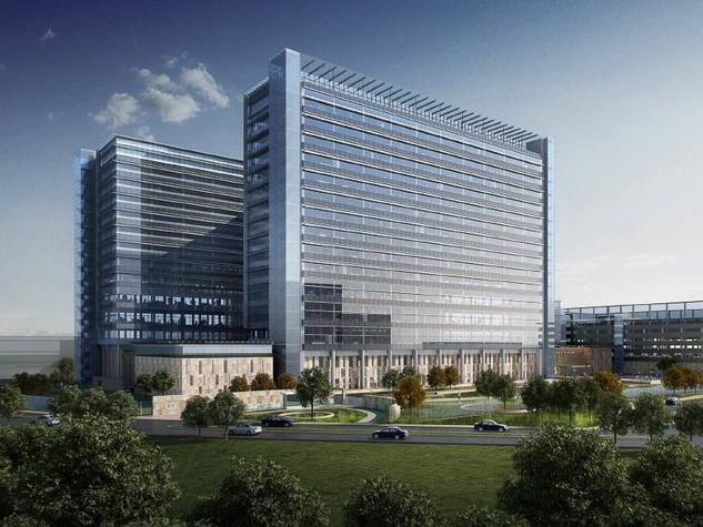 Phillips 66 headquarters rendering for Energy Corridor July 2013