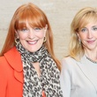 Gracie Cavnar, left, and Tricia Dewhurst at the SPA luncheon October 2013