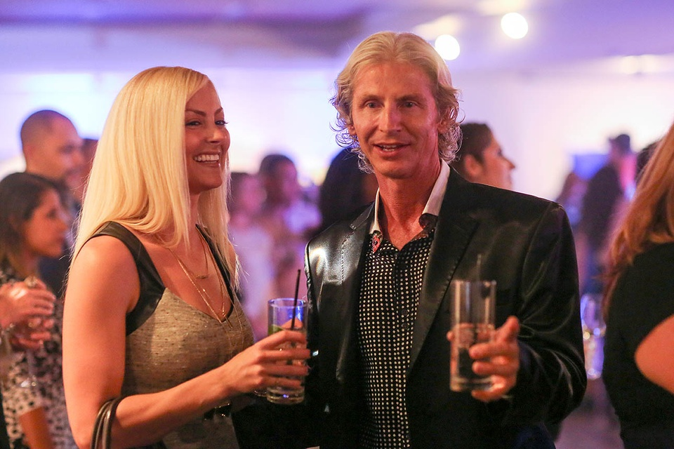 CultureMap fifth anniversary by F. Carter Smith October 2014 cute couple with blonde hair