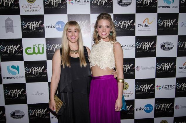 AFW Award show  Jessica Ciarla and Samantha Breeland