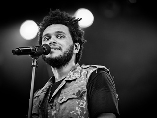 The Weeknd R&B singer and performer