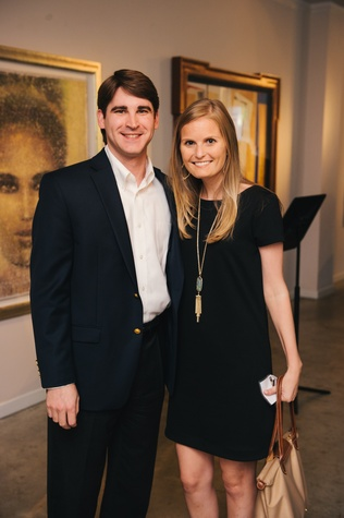 0025 5 Edward Heap and Lindsay Canning at the Houston Symphony's Young Associates Council season kick-off August 2014